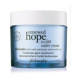 Philosophy Water Cream Hyaluronic Glow Moisturizer